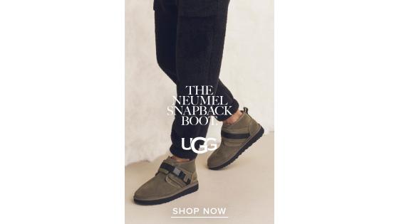UGG Neumel Snapback для вашей теплой и модной зимы