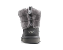 Угги Mini Fluff Quilted Boot - Grey