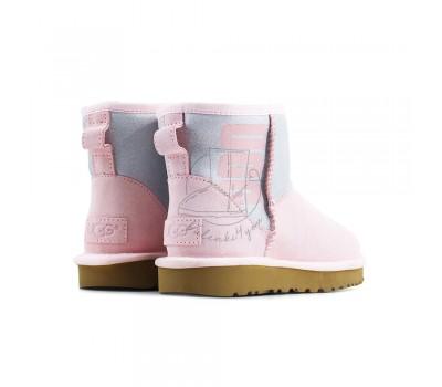 Угги Mini Sparkle Boot - Seashell Pink