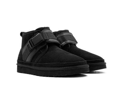Мужские ботинки NEUMEL SNAPBACK - Black