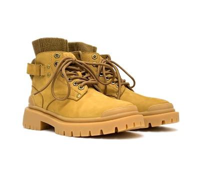 Женские Ботинки Martin - Chestnut
