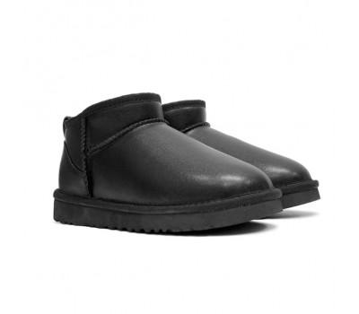 Ultra mini Leather - Black