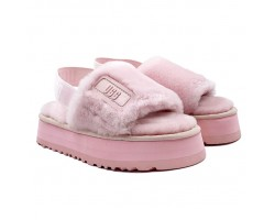 Disco Slide Sandal - Pink Cloud