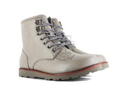 Мужские ботинки на шнуровке с мехом Hannen TL - Grey