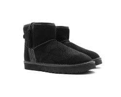 Угги Mini Zip Boot - Black