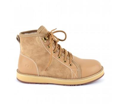 Мужские ботинки на шнуровке с мехом Navajo - Chestnut