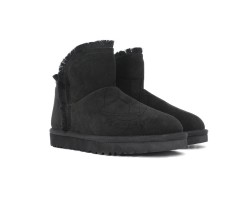 Угги Classic Mini Fluff Hugh-Low - Black