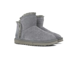Угги Classic Mini Fluff Hugh-Low - Grey
