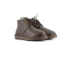 Женские Ботинки Neumel - Шоколадные Кожаные