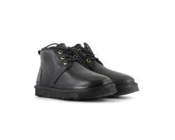 Женские Ботинки Neumel - Черные Кожаные