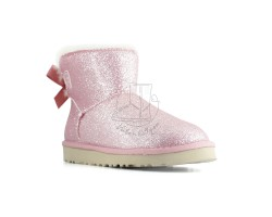 Угги Мини Bailey Bow Sparkle - Pink