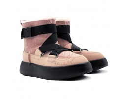 Женские UGG Boom Buckle Boot - Pink Crystal