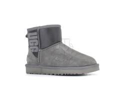 Угги Mini Rubber Boot - Серые