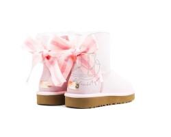 Угги Мини Bailey Bow Customizable - Seashell Pink
