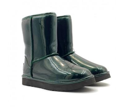 Угги Classic Short Patent - Emerald