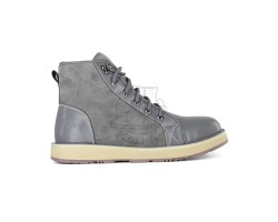 Мужские ботинки на шнуровке с мехом Navajo - Grey