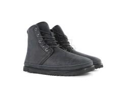 Мужские Кожаные Ботинки Harkley - Black