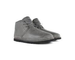 Мужские Кожаные Ботинки Neumel Waterproof - Grey