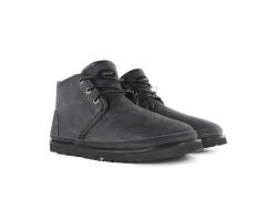 Мужские Кожаные Ботинки Neumel Waterproof - Black