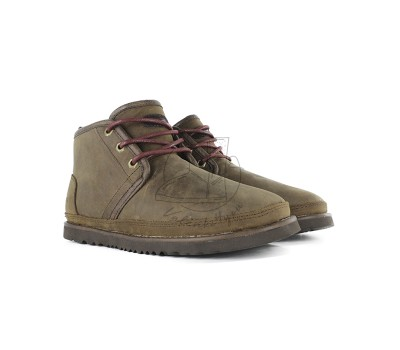 Мужские Кожаные Ботинки Neumel Waterproof - Grizzly