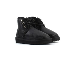 Ботинки Детские Neumel Кожаные - Черные