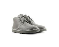 Мужские кожаные ботинки Neumel - Серые