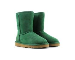 Угги Короткие Непромокаемые Зелёные