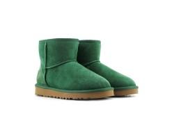 Угги Мини Непромокаемые - Зелёные