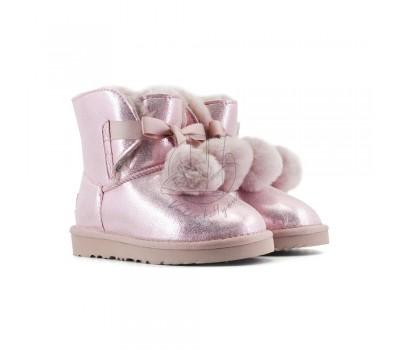 Угги Детские Gita Metallic - Pink