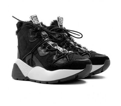 Женские кроссовки UGG на шнурках Cheyenne Trainer - Black