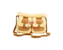 Bag Chestnut - Меховая сумка рыжая
