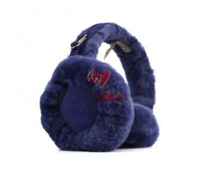 Меховые наушники Earmuffs - Синий