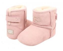 Пинетки для малышей на подошве JESSE - Розовые