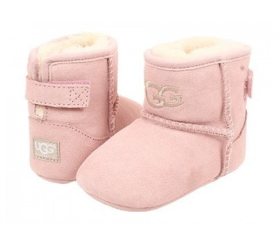 Угги для малышей до года на подошве JESSE - Розовые