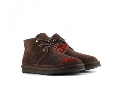 Мужские Ботинки Neumel -Шоколадные