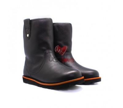 Мужские ботинки Стонмен кожаные черные