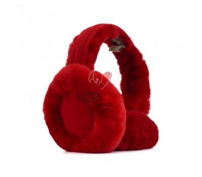 Меховые наушники Earmuffs - Красный