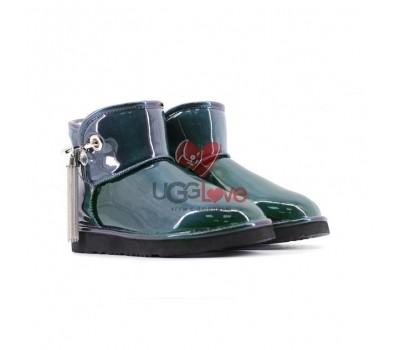 Угги Мини Josey Patent - Emerald