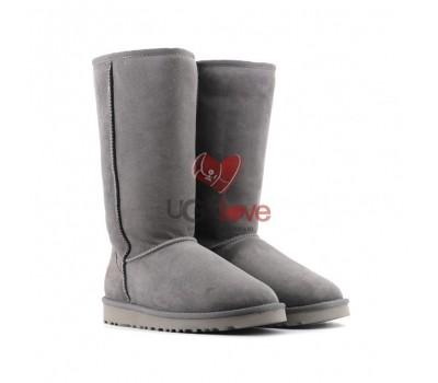 Угги Высокие Непромокаемые - Grey