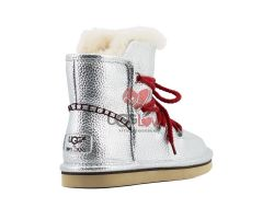 Женские Ботинки Lodge Mini - Серебро