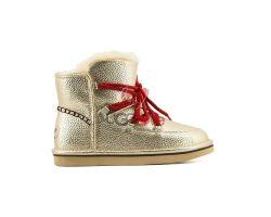 Женские Ботинки Lodge Mini - Золотые